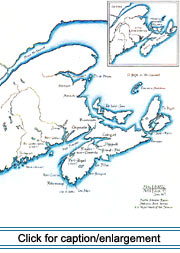 17th-century Acadia: Settlements & Outposts
